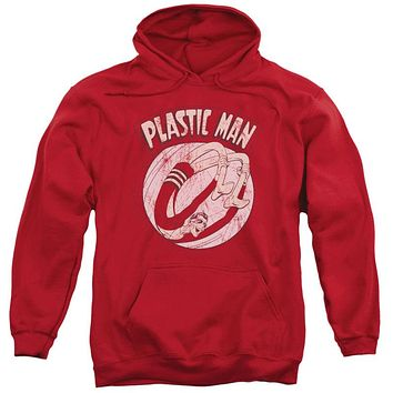 DC Comics Plastic Man Bounce Adult Pullover Hoodie