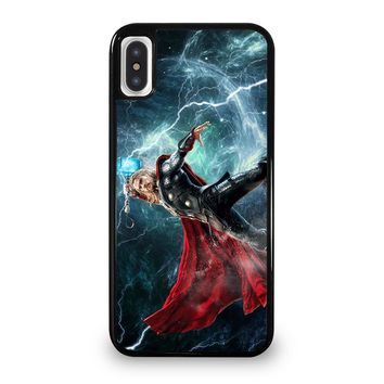 THOR AND THE NORSE GODS MYTHOLOGY iPhone 5/5S/SE 5C 6/6S 7 8 Plus X/XS Max XR Case Cover