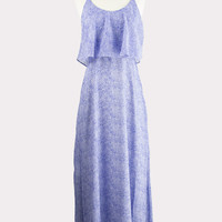 India Maxi Dress in Blue