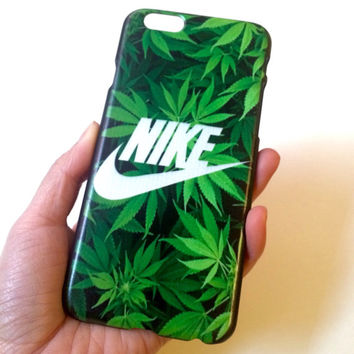 Nike iPhone case weed