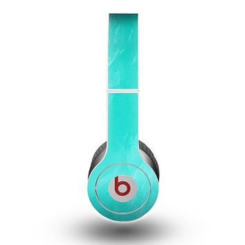 The Subtle Neon Turquoise Surface Skin for the Beats by Dre Original Solo-Solo HD Headphones