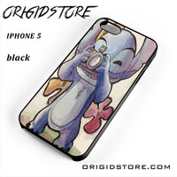 Lilo And Stitch Potographer For Iphone 5 Iphone 5S Case UY