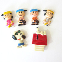 20% OFF SALE Vintage Lot of Peanuts Kitchen Magnets for the Refrigerator