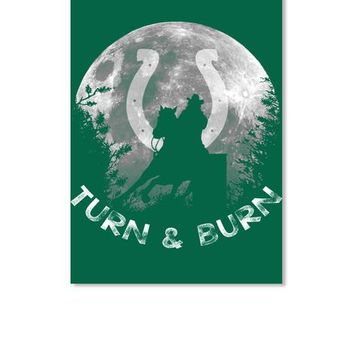 TURN n BURN - BARREL RACER