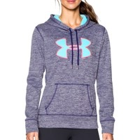 Under Armour Women's Storm Armour Fleece Big Logo Twist Hoodie | DICK'S Sporting Goods