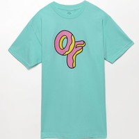 ODD FUTURE Donut T-Shirt - Mens Tee - Green