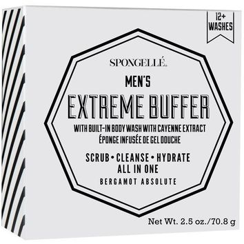 SPONGELLE MEN'S SUPER BUFFER BERGAMONT