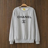 CHANEL Woman Men Top Sweater Pullover