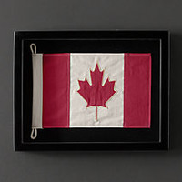 Framed Flag of Canada
