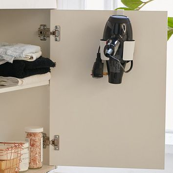 Over-The-Cabinet Hair Dryer Caddy | Urban Outfitters