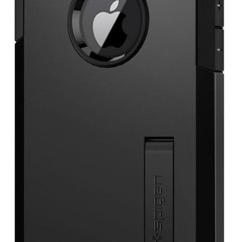Spigen Tough Armor [2nd Generation] iPhone 8 Case / iPhone 7 Case with Kickstand and Heavy Duty Protection and Air Cushion Technology for Apple iPhone 8 (2017) / iPhone 7 (2016) - Black