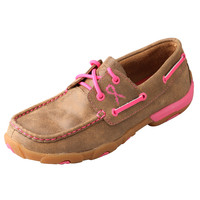 Shop Women's Twisted X Breast Cancer Awareness Bomber Boat Shoe