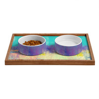 Allyson Johnson Celebration Pet Bowl and Tray