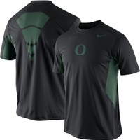 Nike Men's Oregon Ducks Hypercool Speed Performance Black T-Shirt