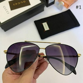 GUCCI trend new products wild men and women models large frame polarized sunglasses #1