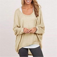 Knit Tops Women's Fashion Sweater [37748899866]