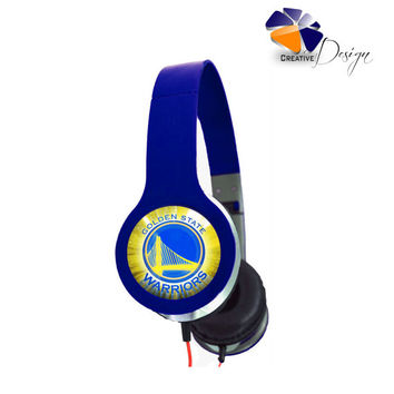 Golden State Warriors Headphones SP