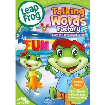 DVD LeapFrog: Talking Words Factory