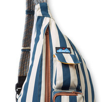 Monogrammed Kavu Rope Bags - Nautical Stripe