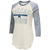 NFL Dallas Cowboys Women's Raglan Sleeve Shirt - L