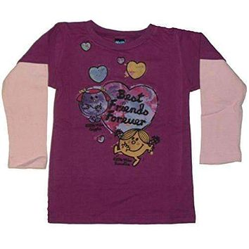 Junk Food Little Miss Giggles & Sunshine BFF Infant 2fer Tee Shirt