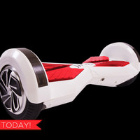 STREET GLYDER 2.0 Hoverboard Balance Scooter (WHITE). 2 Wheel Self Balancing Scooter (FAST SHIPPING From USA)