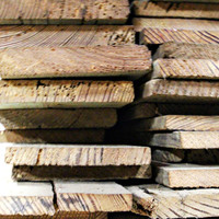 """Reclaimed Antique Longleaf Heart Pine 1""""x8"""" FREE SHIPPING"""