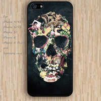 iPhone 5s 6 case skull case cartoon rose dream catcher colorful phone case iphone case,ipod case,samsung galaxy case available plastic rubber case waterproof B624