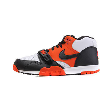 Original   NIKE Air trainer 1 mid men's Skateboarding Shoes 317554-800/317554-005 sneakers free shipping