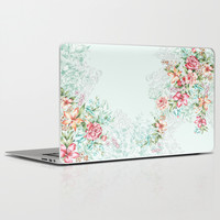 Summer Floral Laptop & iPad Skin by Gemma Hodgson Design