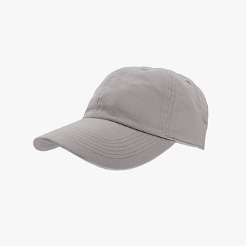 Gray Cotton Cap