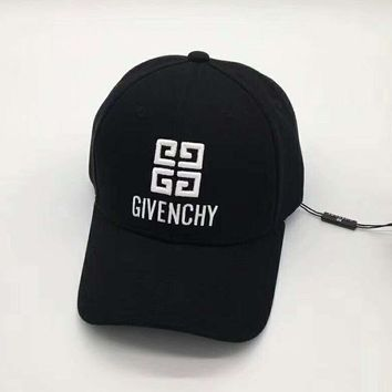Givenchy  Women Men Sport Sunhat Embroidery Baseball Cap Hat G-A-HRWM