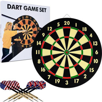 TG  Dart Game Set with 6 Darts & Board