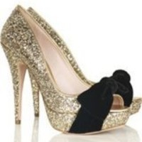 Sex And The City Glitter Shoe