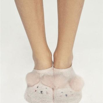 ESBONN Oysho Cute Warm floor socks