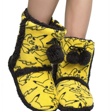 PIKACHU BOOT SLIPPERS