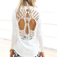 Lace Skull Tunic | SABO SKIRT