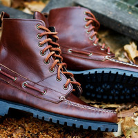 Sebago Delancey Boot | 7 Shoes | Ronnie Fieg x Sebago