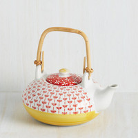 Tea and Meditation Teapot by ModCloth