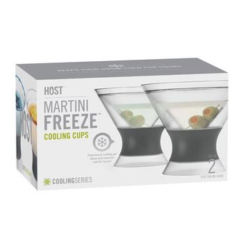 Martini Freeze Glasses By True Brand