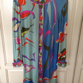 Vintage Emilio Pucci long sleeve Dress
