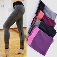 Women Sport Leggings Running Training Bodybuilding Fitness Clothing Fashion Gym Elastic Leggings