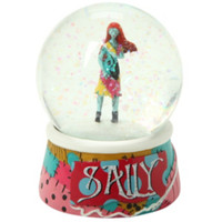 The Nightmare Before Christmas Sally Water Globe