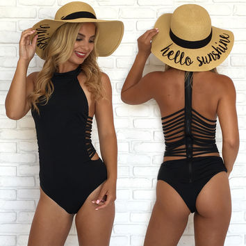 Amazing Athlete One Piece Swimsuit In Black