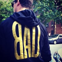 BAD NYC Black and Gold Limited Edition Unisex Hoodie - Bad Kids Clothing | Bad Kids Clothing