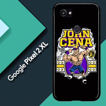 John Cena Cenation Cartoon V0479 Google Pixel 2 XL Custom Case
