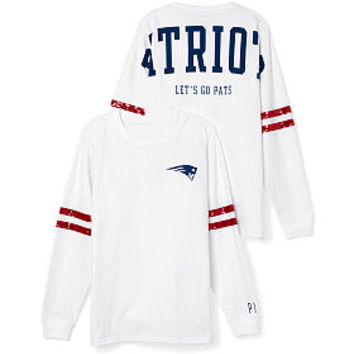 New England Patriots Bling Varsity Crew - PINK - Victoria's Secret