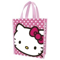 Vandor 18173 Hello Kitty Small Recycled Shopper Tote, Pink
