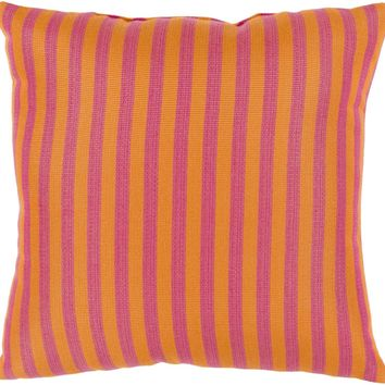 Finn Throw Pillow Orange, Pink