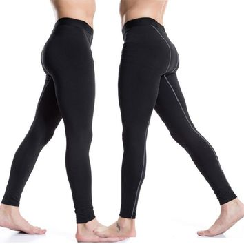 Thicker Running Tights Workout Fitness Gym Sports Capris Running Tights Men Jogging Sport Leggings GYM Fitness Compression Pants